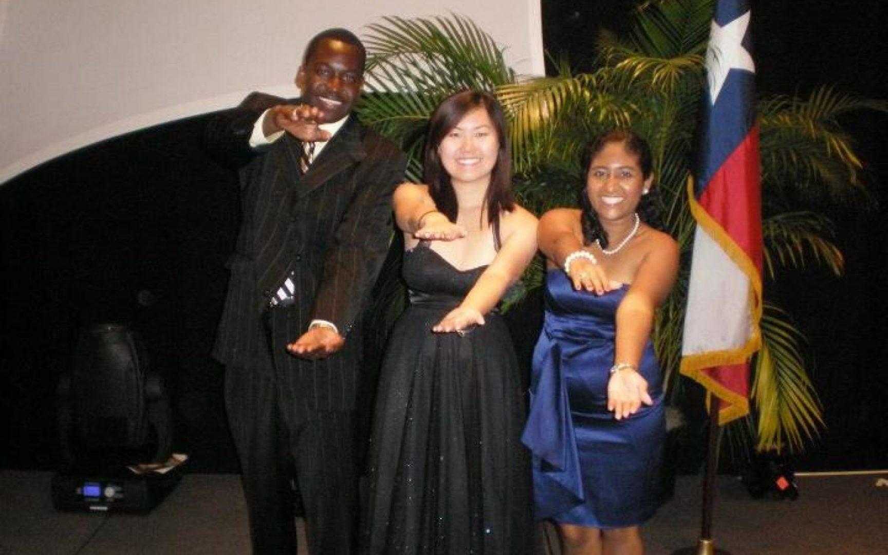 Claudison Azard, Shuyun Xue, and Jackie Campuzano