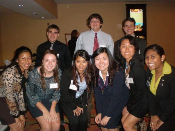 Members of Phi Beta Lambda team at the Florida PBL State Leadership Conference