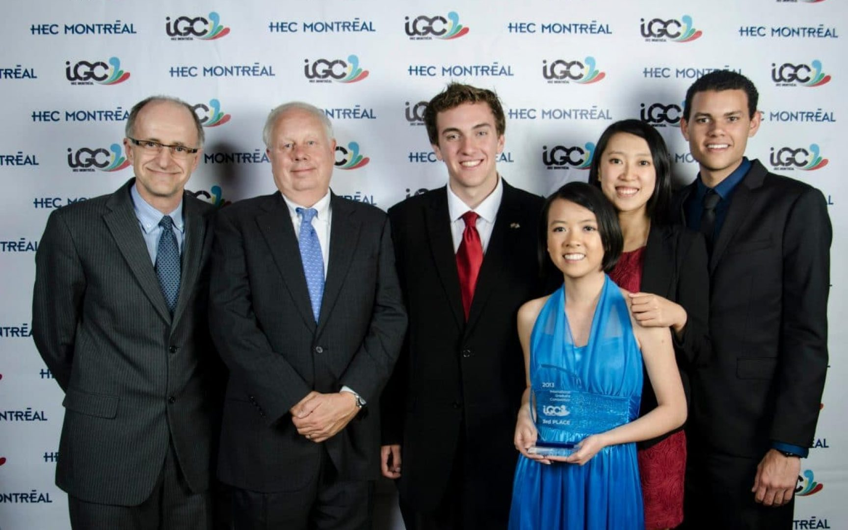 Paul Lanoie, Dr. Brian Gendreau, Mark Supinski, Rachel Chang, Mier Zhou, and Christian Vazquez