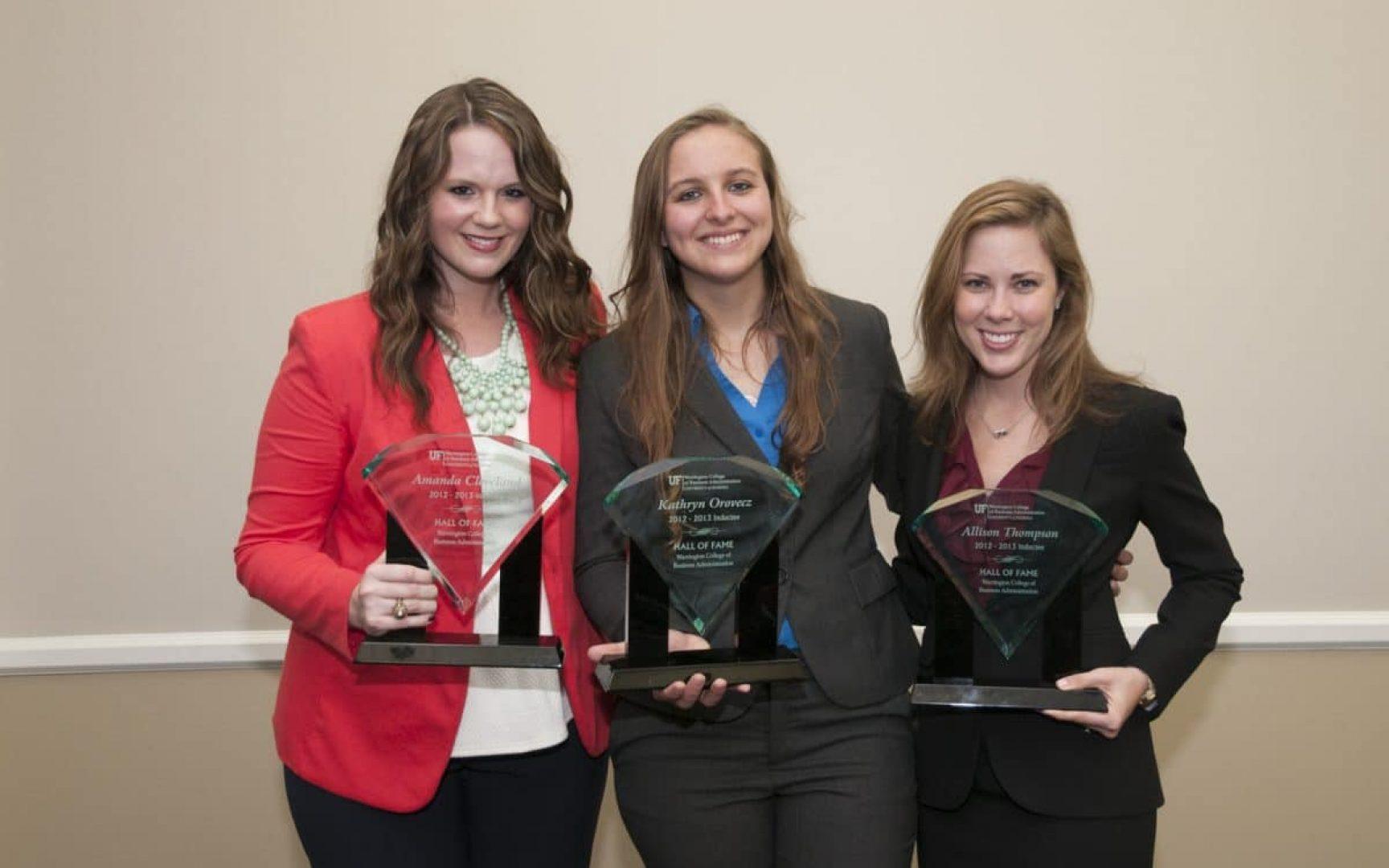 Amanda Cleveland, Katie Orovecz, and Ali Thompson