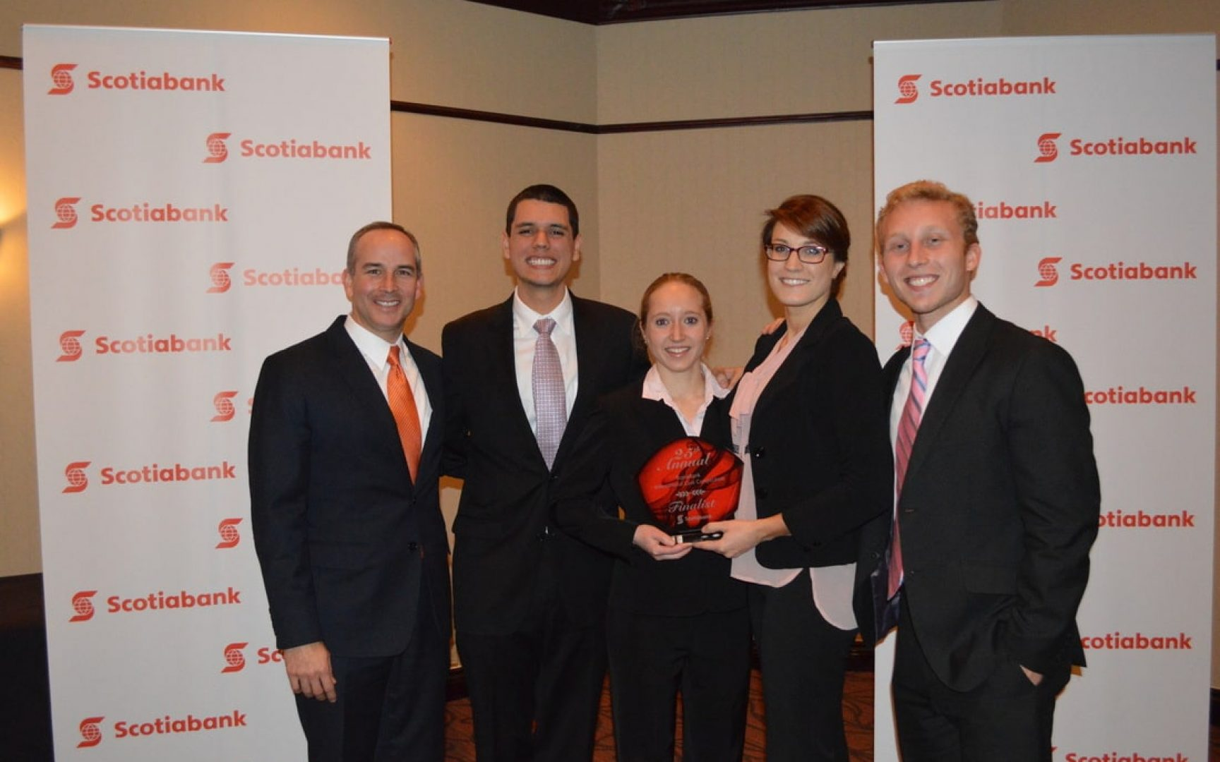 Heavener team finishes as runner-up at case competition