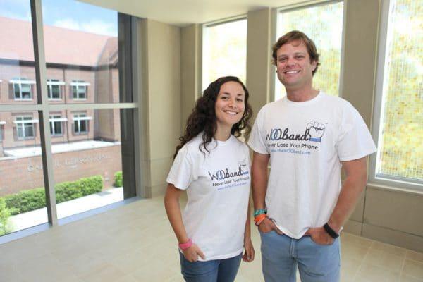 Samantha Rosenbaum and Jarrod Schilling