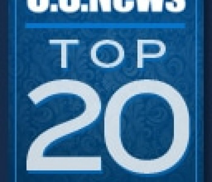 U.S. News & World Report Top 20