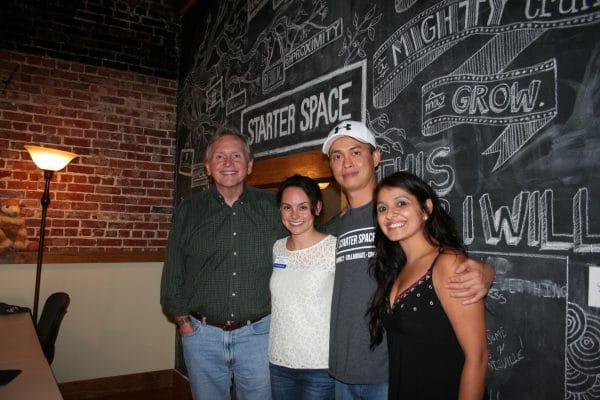 Dr. Michael Morris, Laura Johnson, Quang Tran, and Payal Khurana