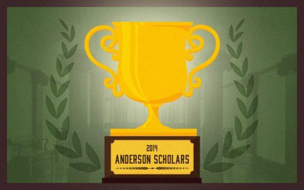 2014 Anderson Scholars