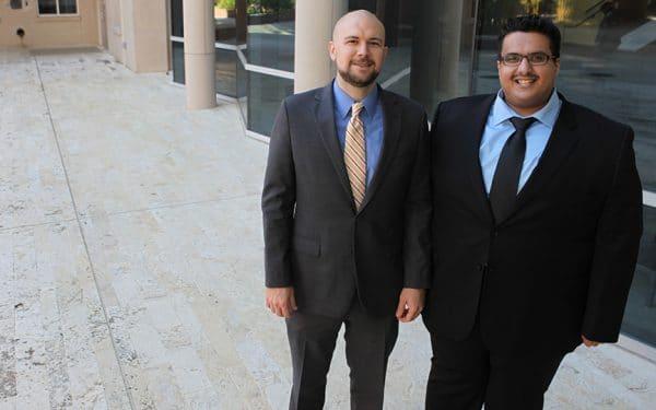 Brent Kitchens and Mishari Alnahedh