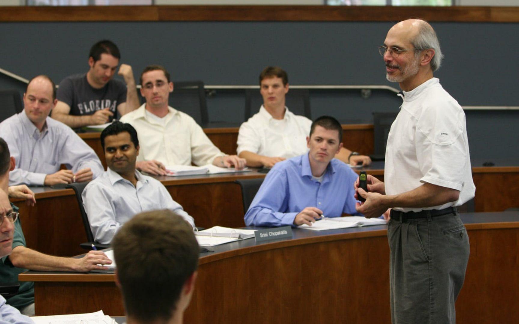 Joe Alba in class