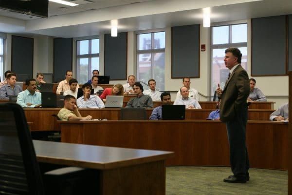 Joel Houston in class