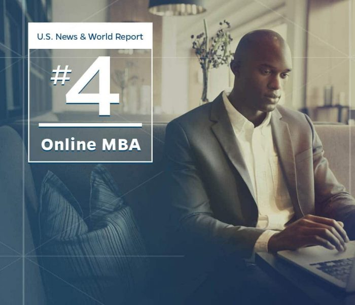 U.S. News & World Report #4 Online MBA