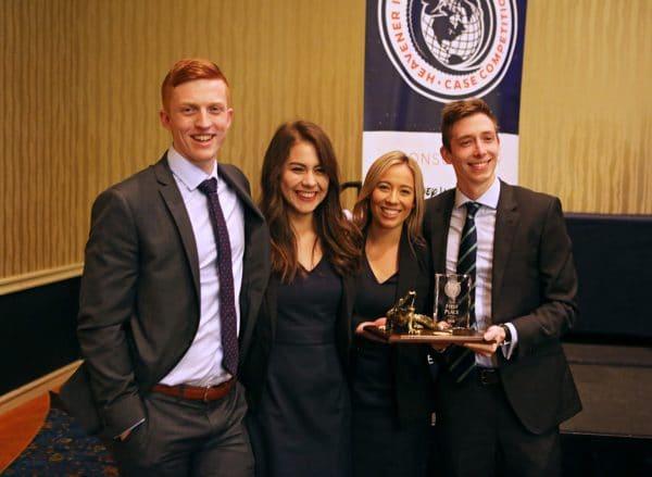 Queensland University of Technology (Brisbane, Australia) claimed the inaugural Heavener International Case Competition