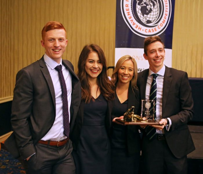Queensland University of Technology (Brisbane, Australia) claimed the inaugural Heavener International Case Competition