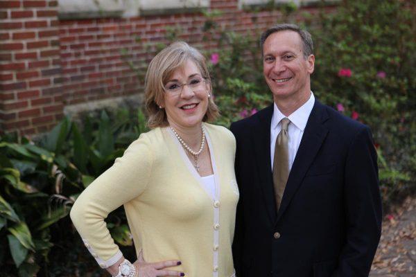 Judy Callahan and Jim Parrino