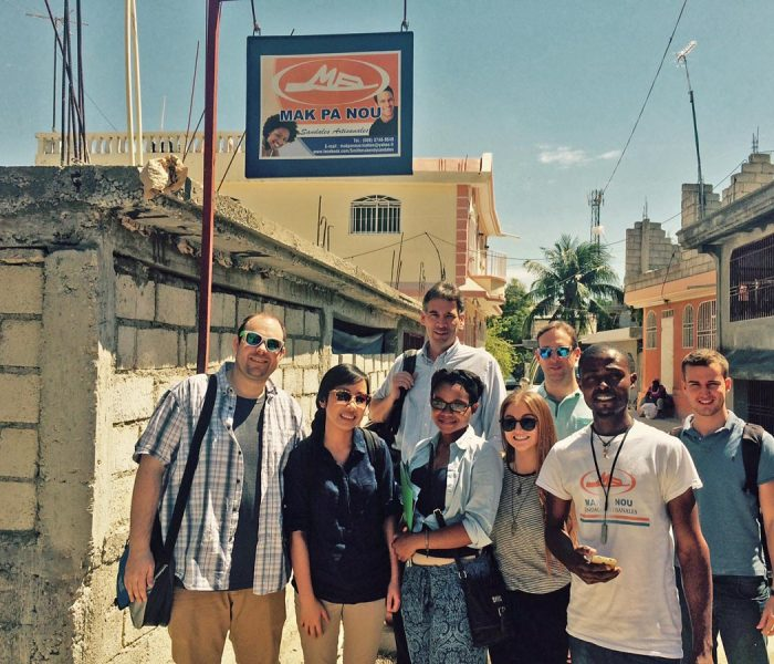 Ryan Good and his fellow UF students visit Haiti to assist local entrepreneurs
