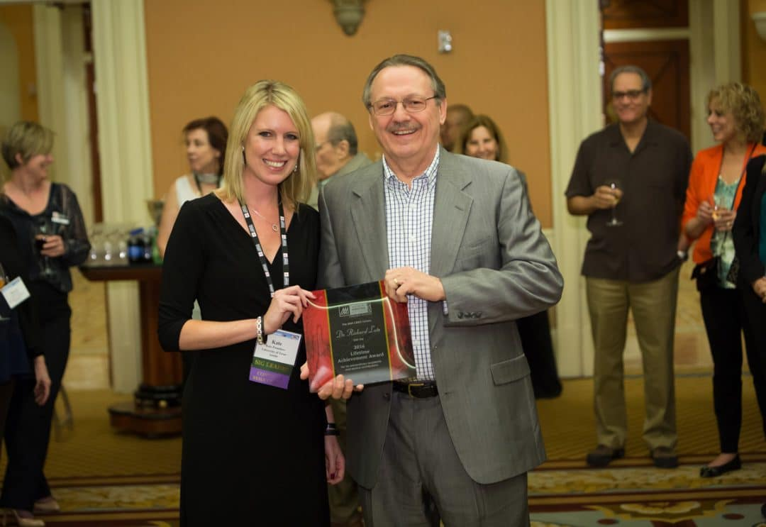 Dr. Kate Pounders and Dr. Richard Lutz