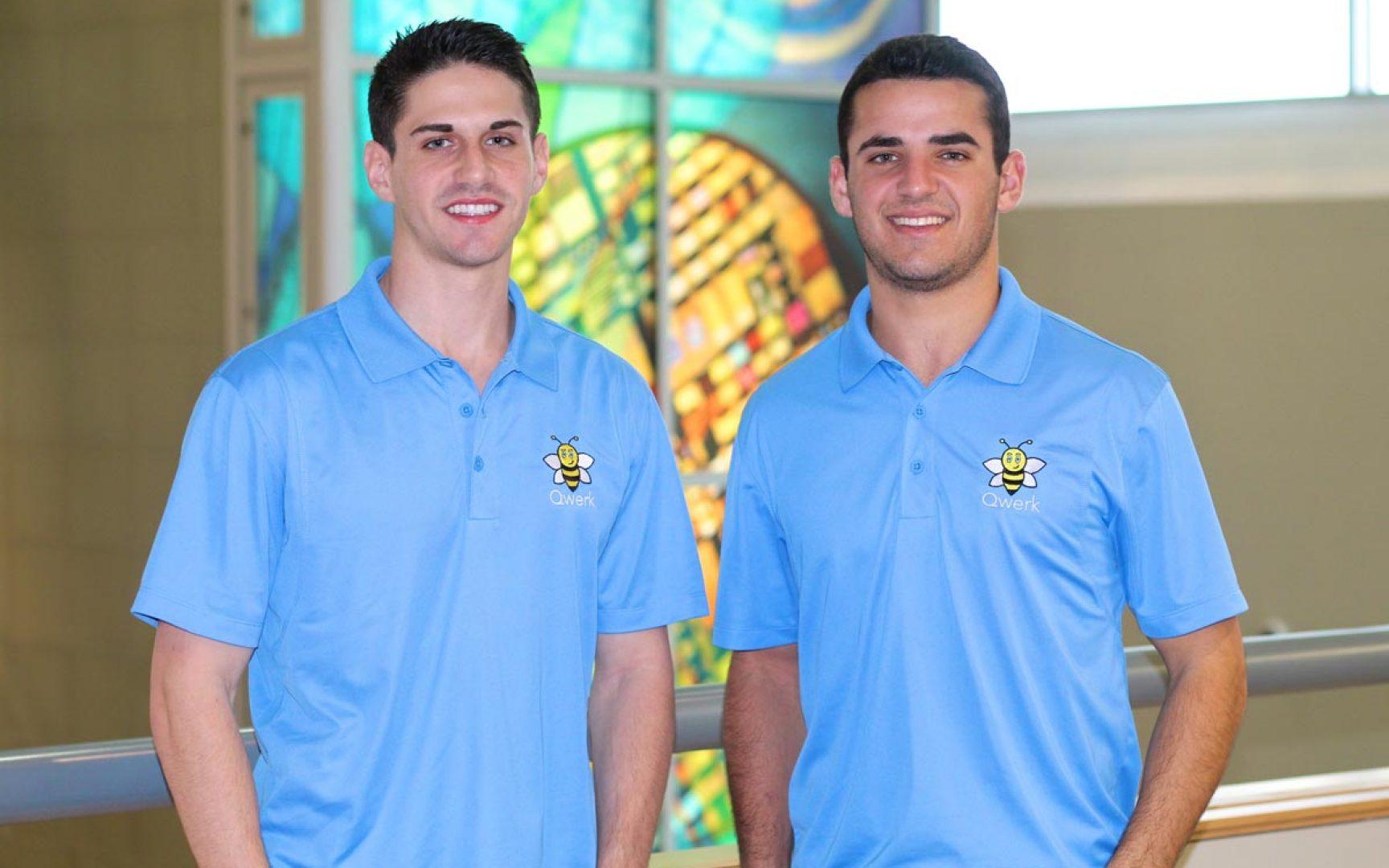Qwerk founders Jonathan Katz and Alex Schepps
