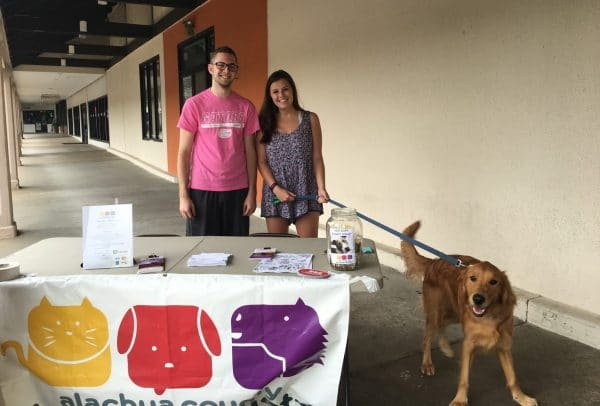 Garrett Patane, Jessie Greathouse, marketing students