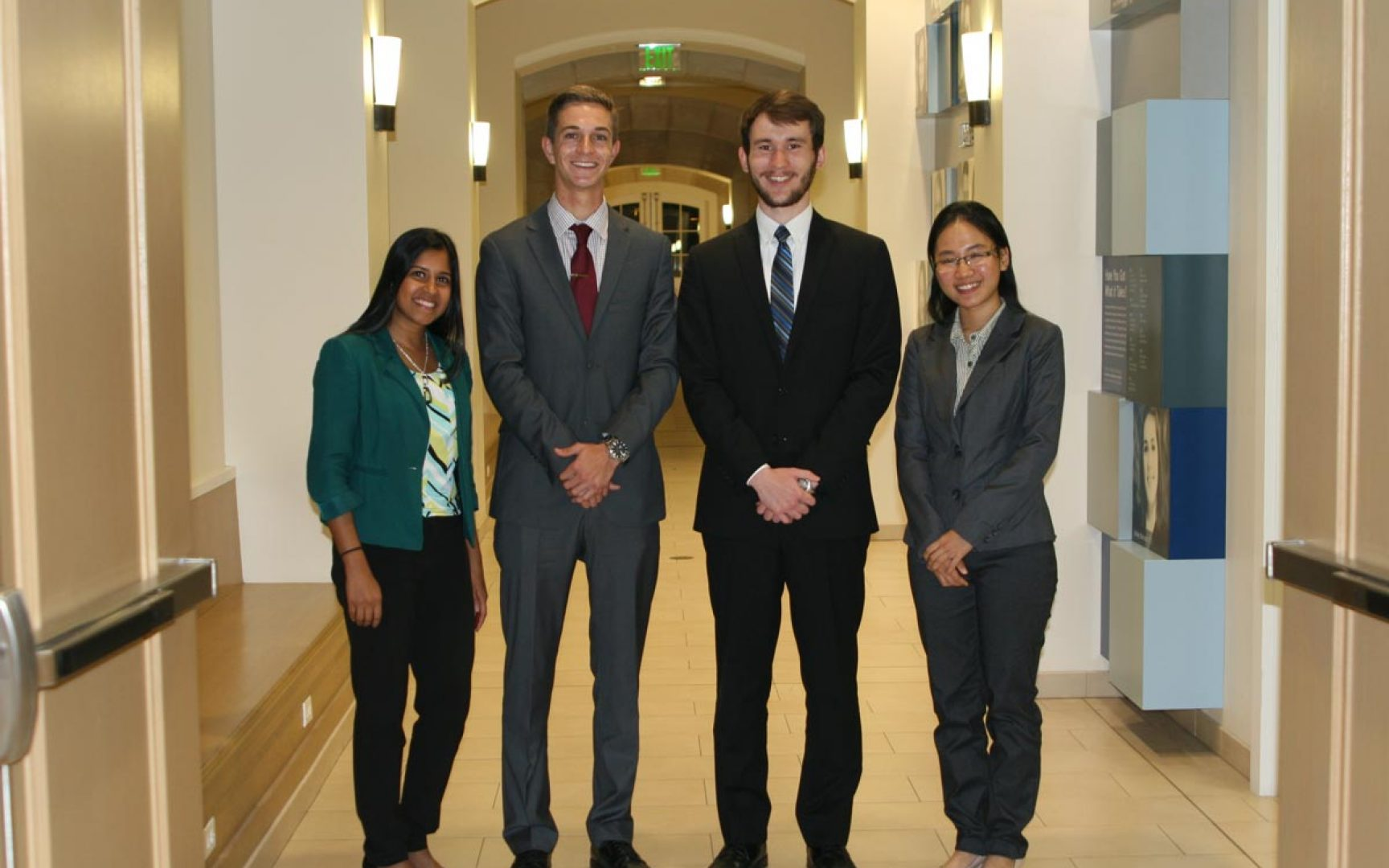 First-year students flourish in ethics case competition