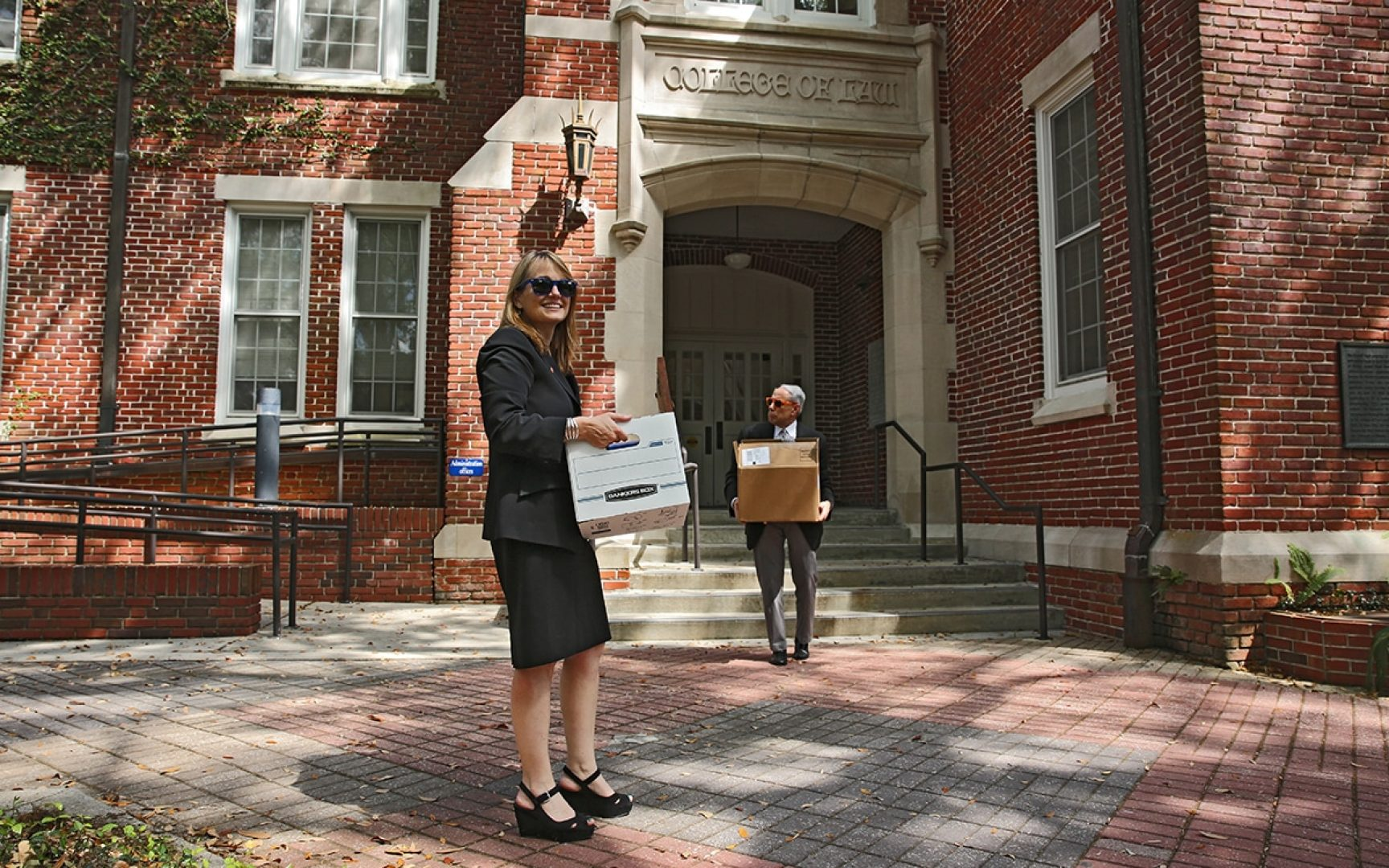 UF Warrington dean John Kraft and UF Law dean Laura A. Rosenbury are moving.