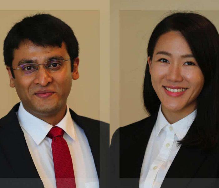 UF MSRE students Arjun Choudhary and Yeji Moon