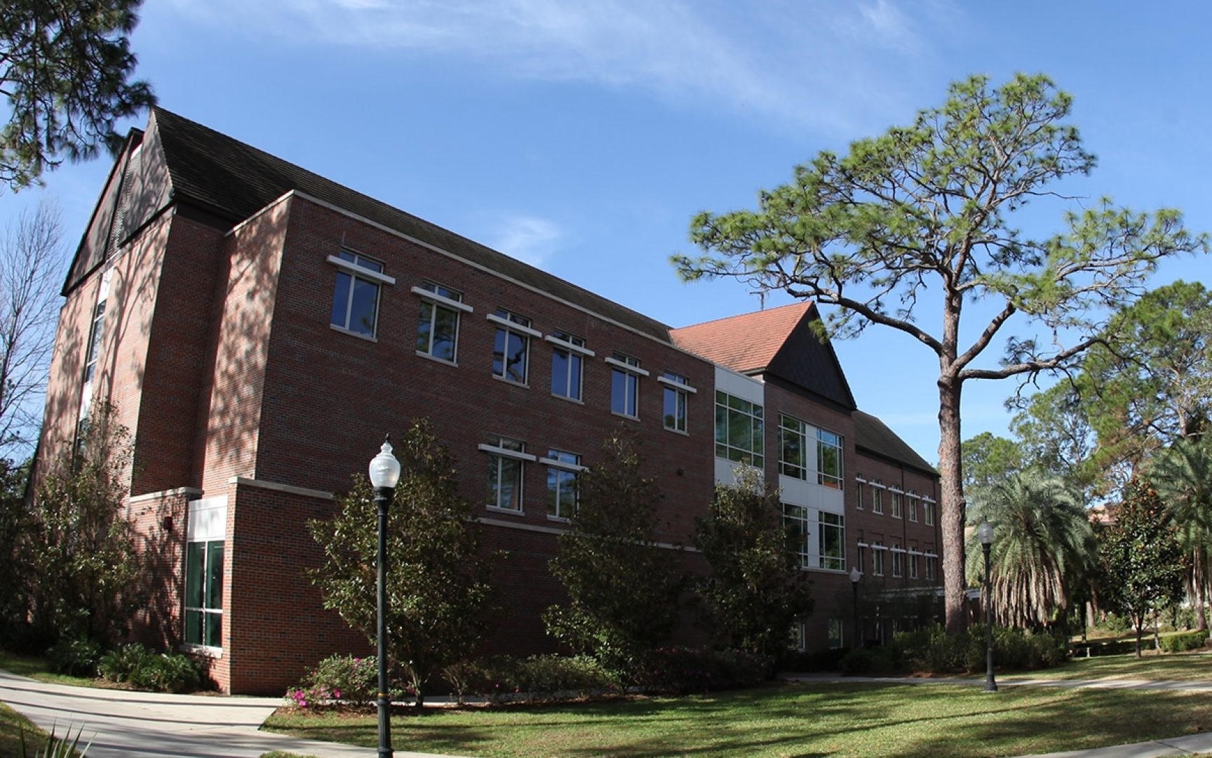 Gerson Hall is a state-of-the-art building devoted to the needs of accounting students at the University of Florida.
