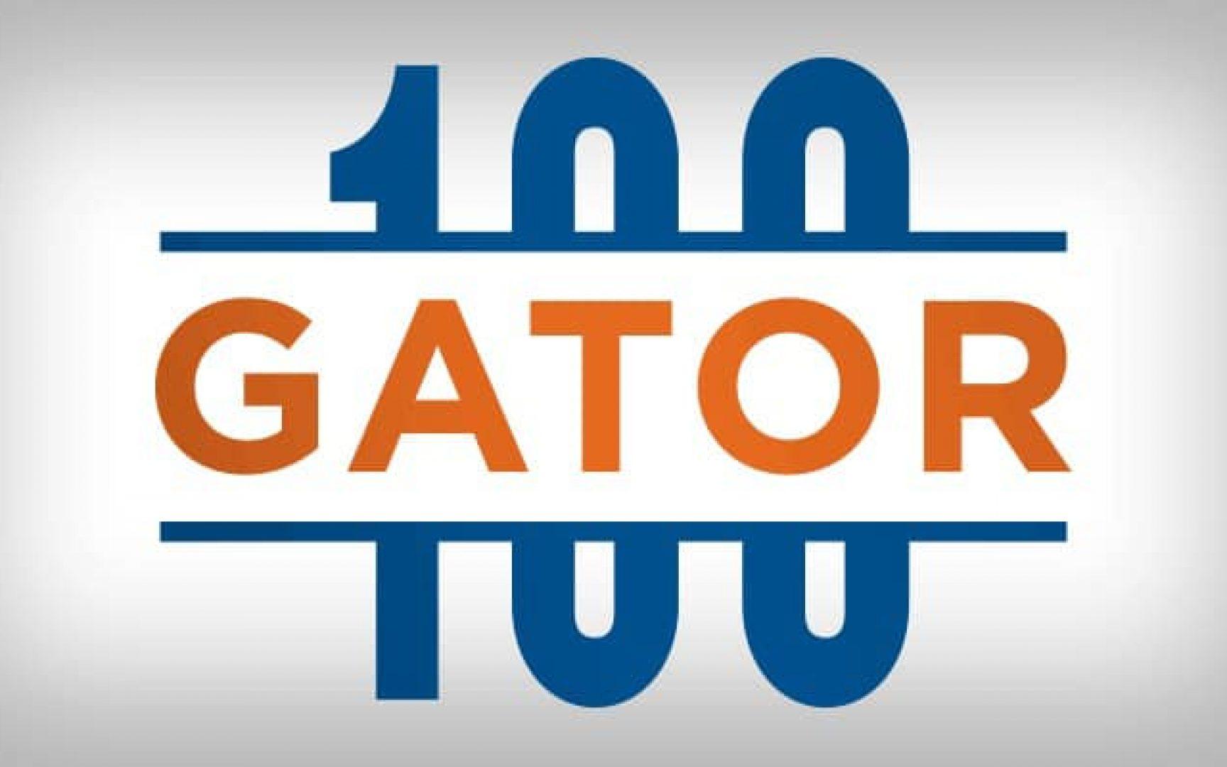 Gator100 logo