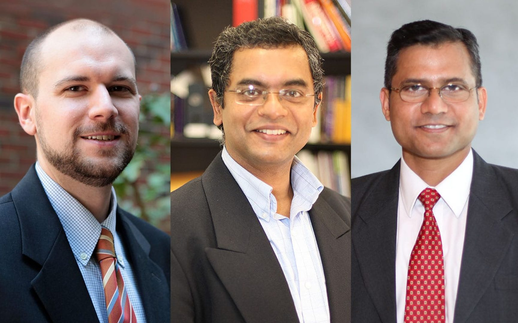 Brent Kitchens, Praveen Pathak and Anuj Kumar.