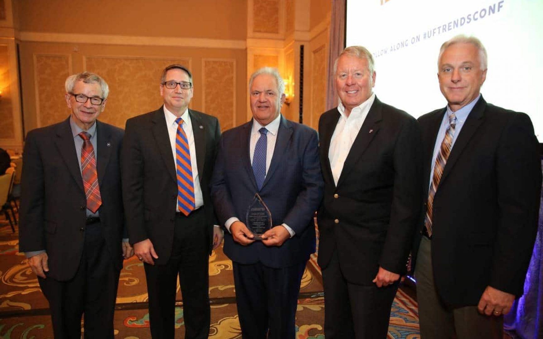 UF Board of Trustees member inducted in Bergstrom Center's Hall of