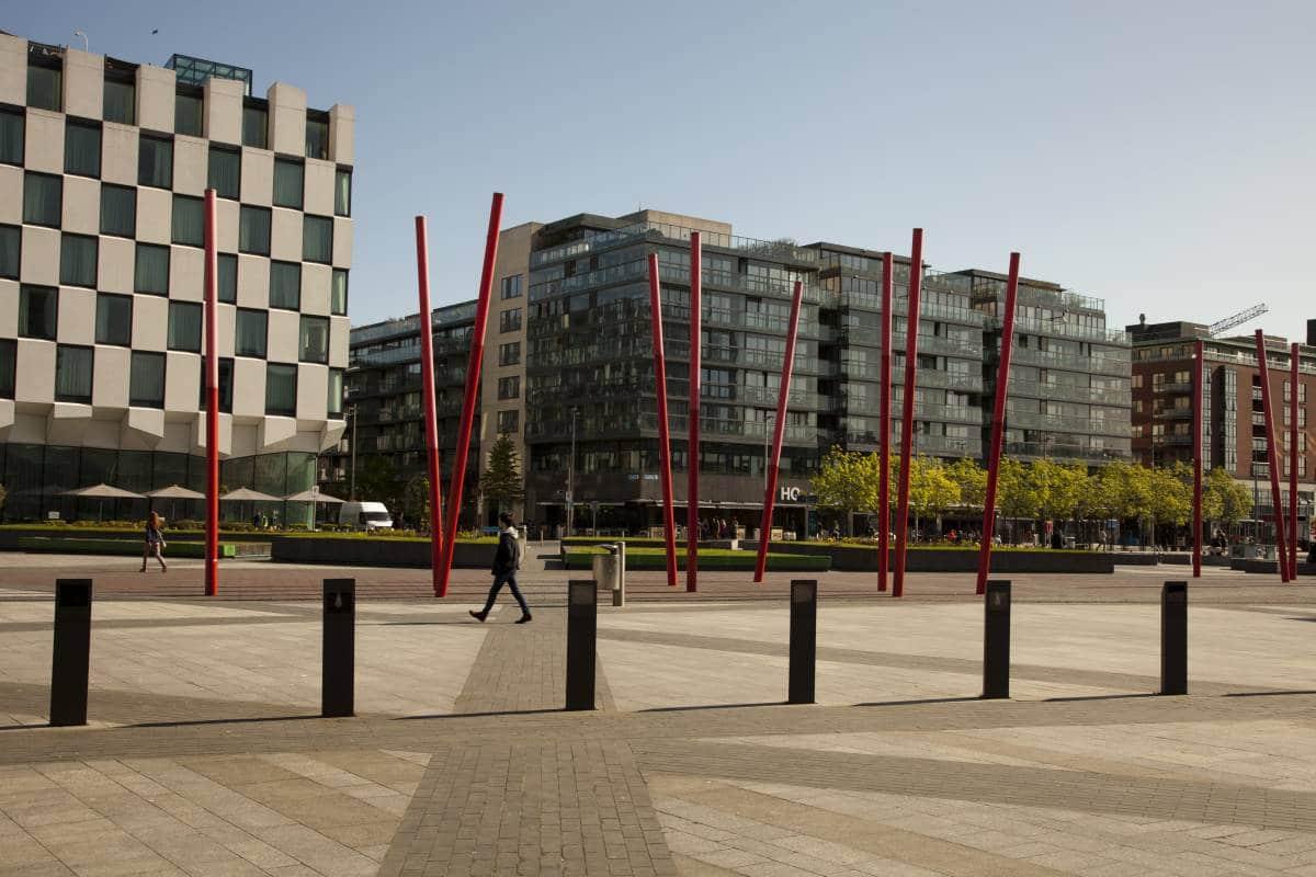 Modern architecture in Dublin, Ireland