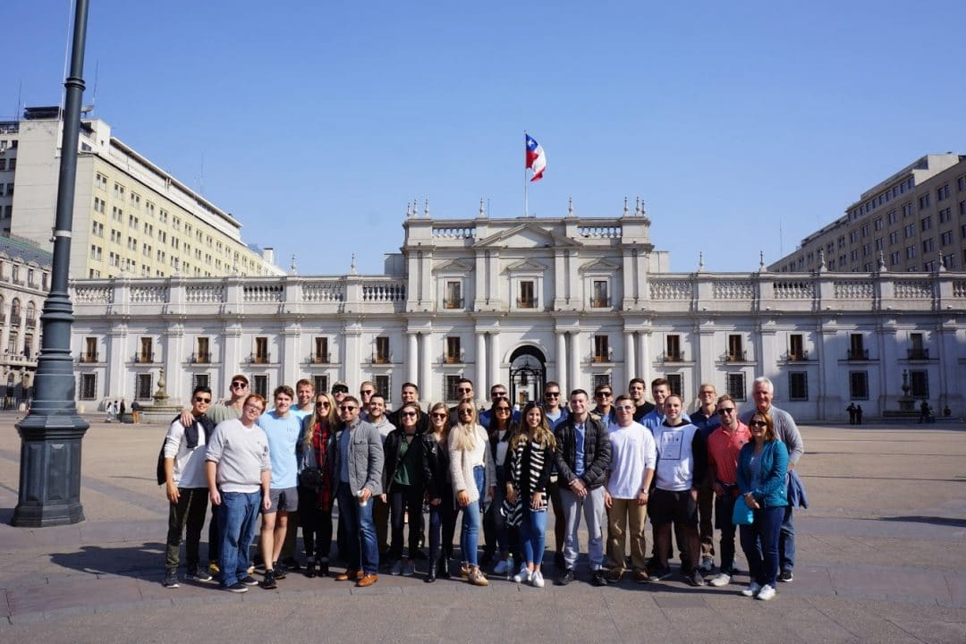 Master of Science in Real Estate students in Santiago, Chile.