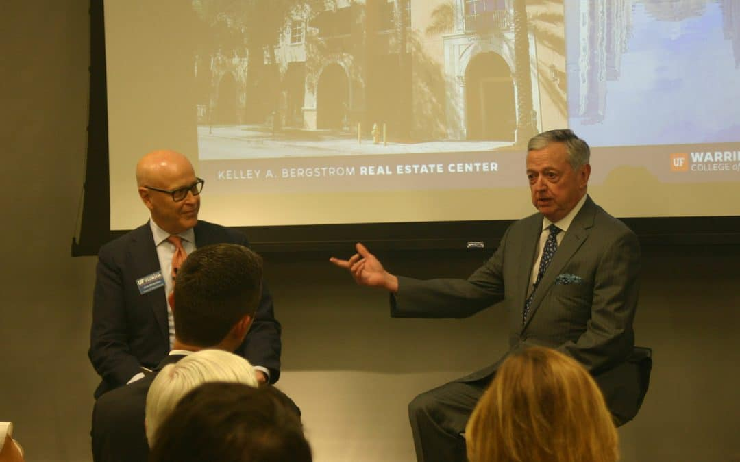 Jim Mehalso, Managing Director at Prudential Real Estate Investors and Armando Codina, Executive Chairman of Codina Partners.