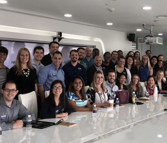 UF MBA students at Ctrip
