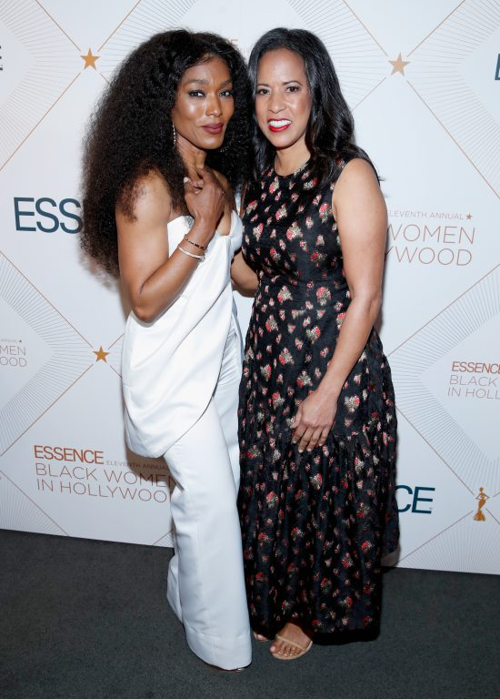 Michelle Ebanks with Angela Bassett