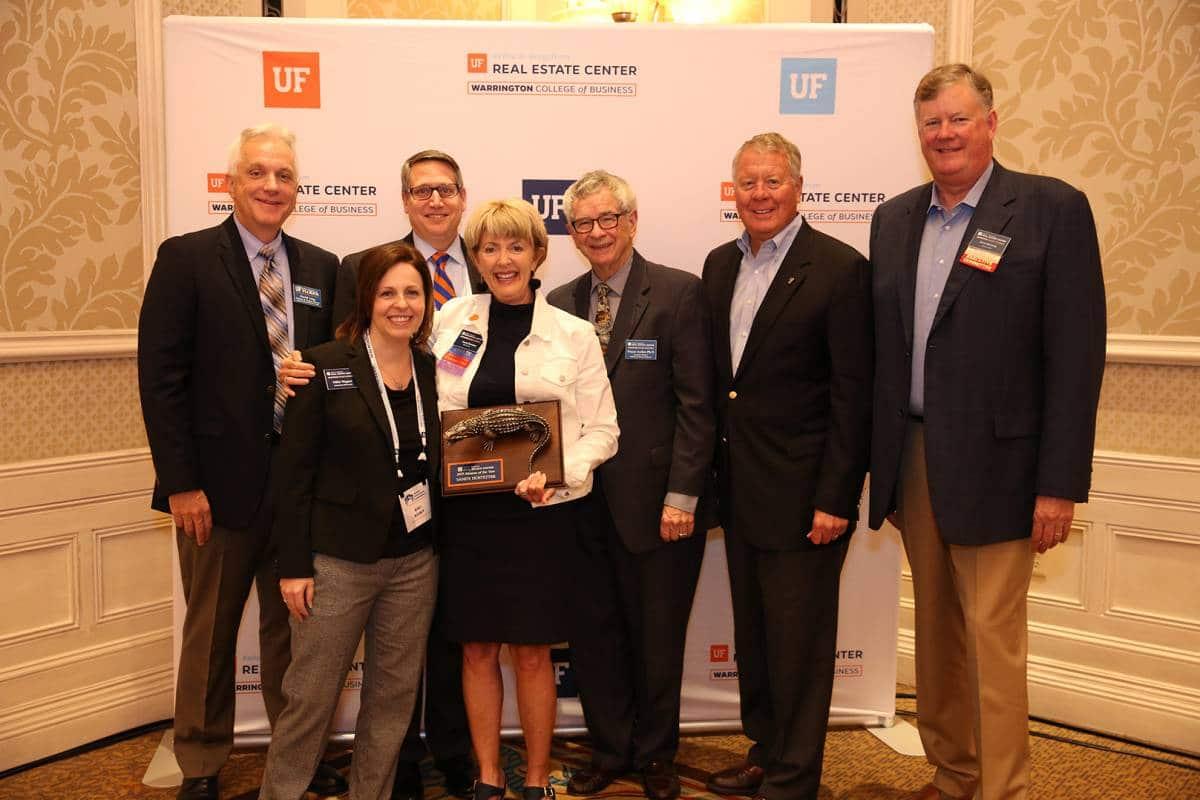From left: Dr. David Ling, Nikki Wagner, Tim Becker, Sandy Hostetter, Dr. Wayne Archer, Kelley Bergstrom and Steve Messing.