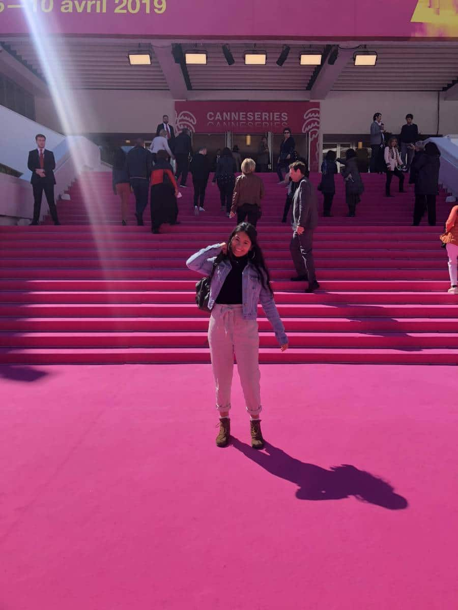 Allie Carrasquilla at Cannes