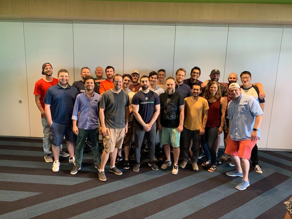 Group of employees from RotoGrinders