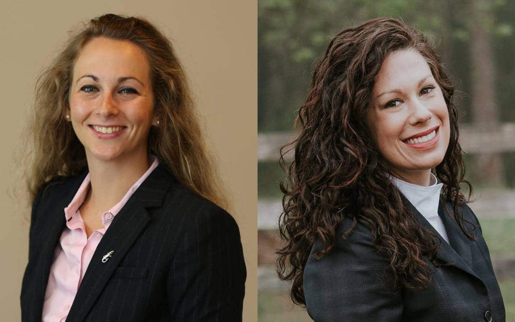 Caroline Smith and Kate O'Hara