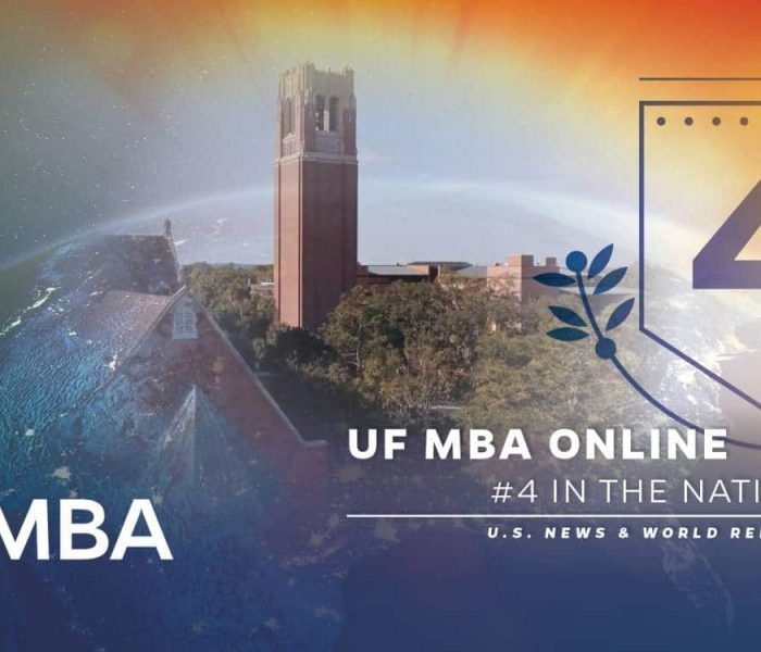 UF MBA Online #4 in the nation U.S. News and World Report