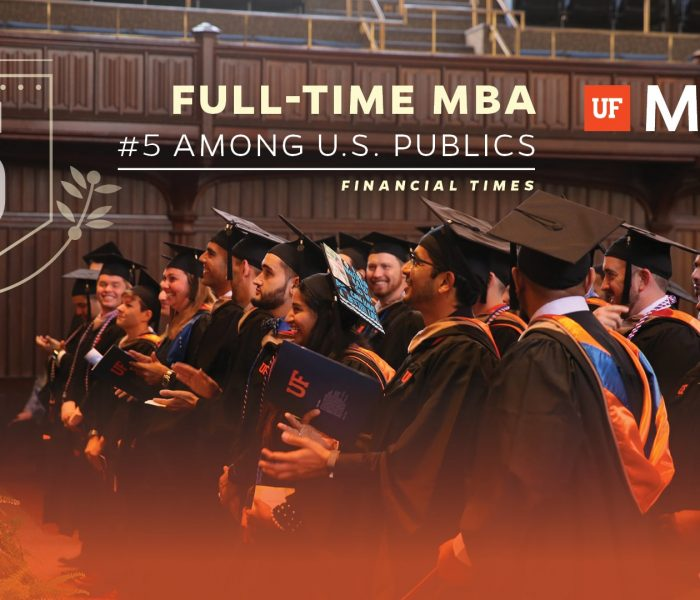 Full-Time MBA #5 among U.S. publics Financial Times