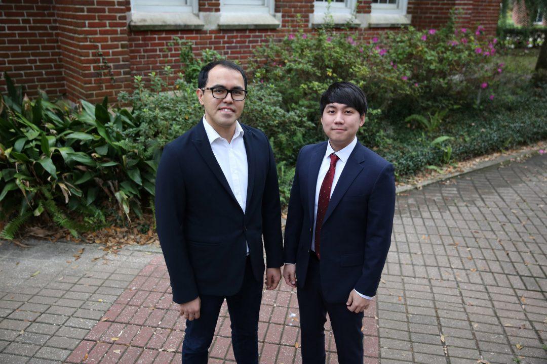 Mustafa Emin and Sang Kuy Park
