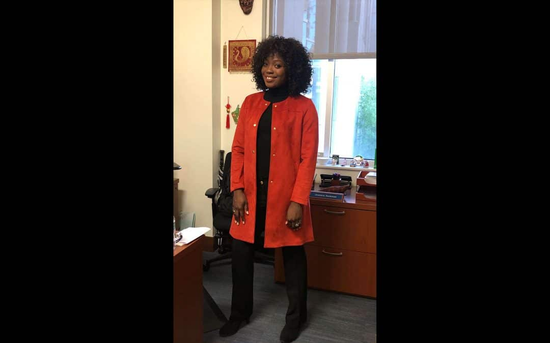 Gloria Katuka is a standout student in the MS-ISOM program.