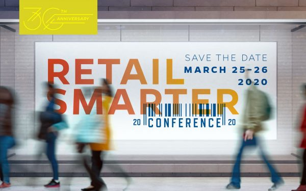 Warrington hosts the Retail Smarter Conference in March 2020.