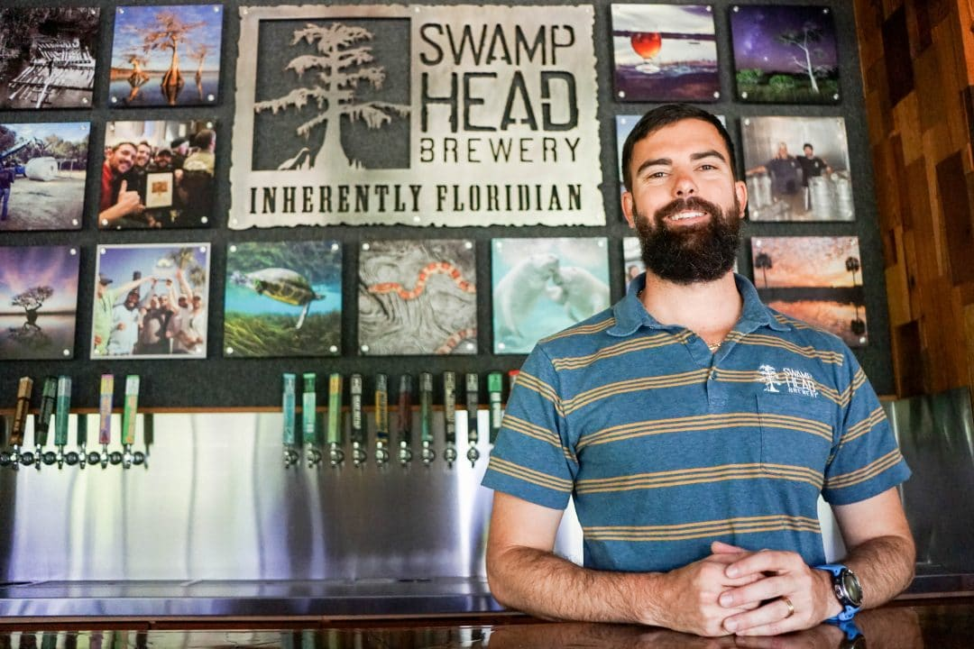 Luke Kemper is the founder of Swamp Head Brewery