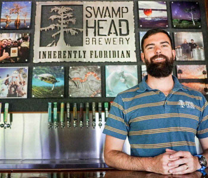 Luke Kemper is the founder of Swamp Head Brewery