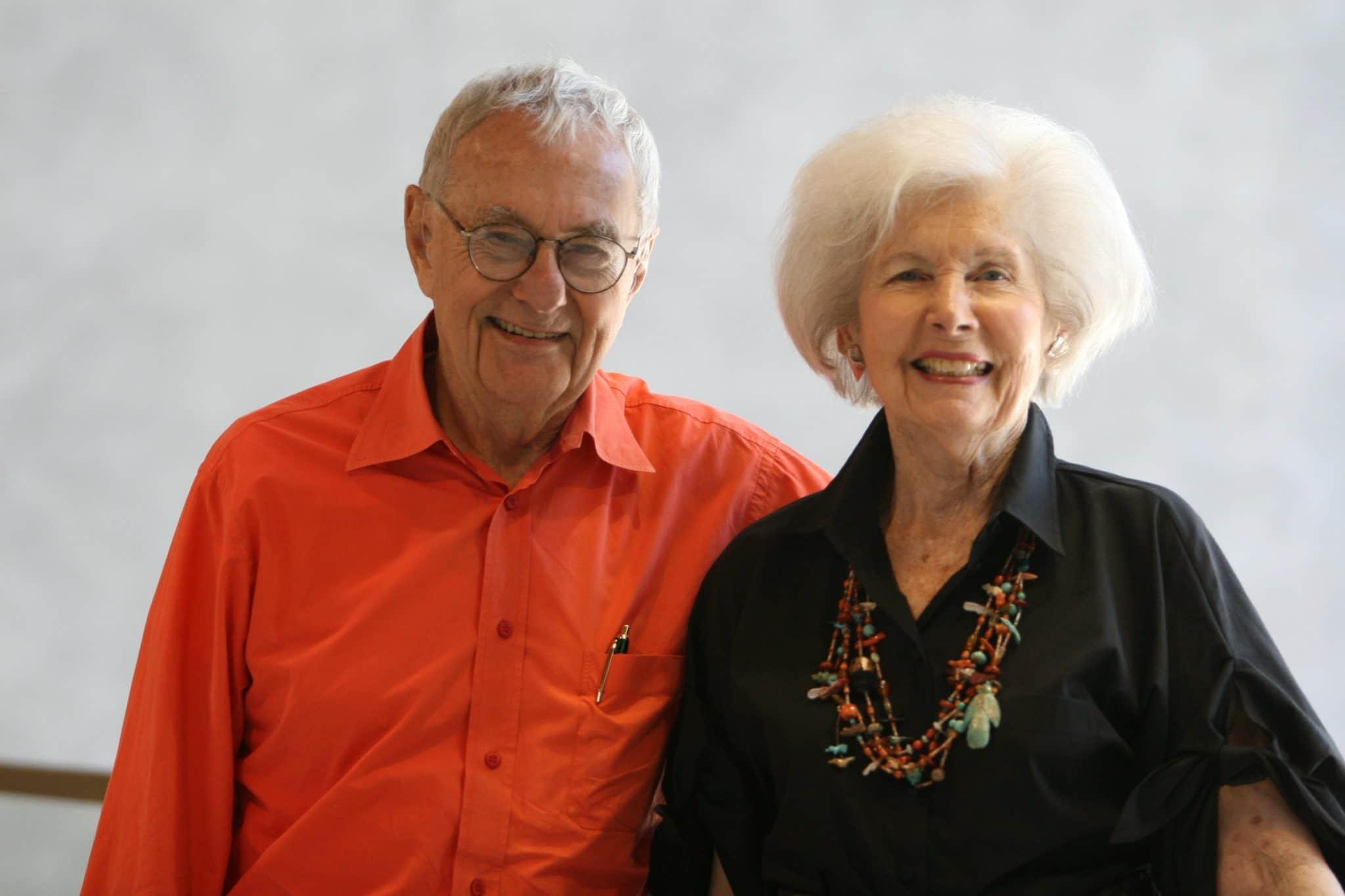 Bill and Hazel Hough