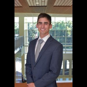 Andres Diaz received the PCAOB scholarship