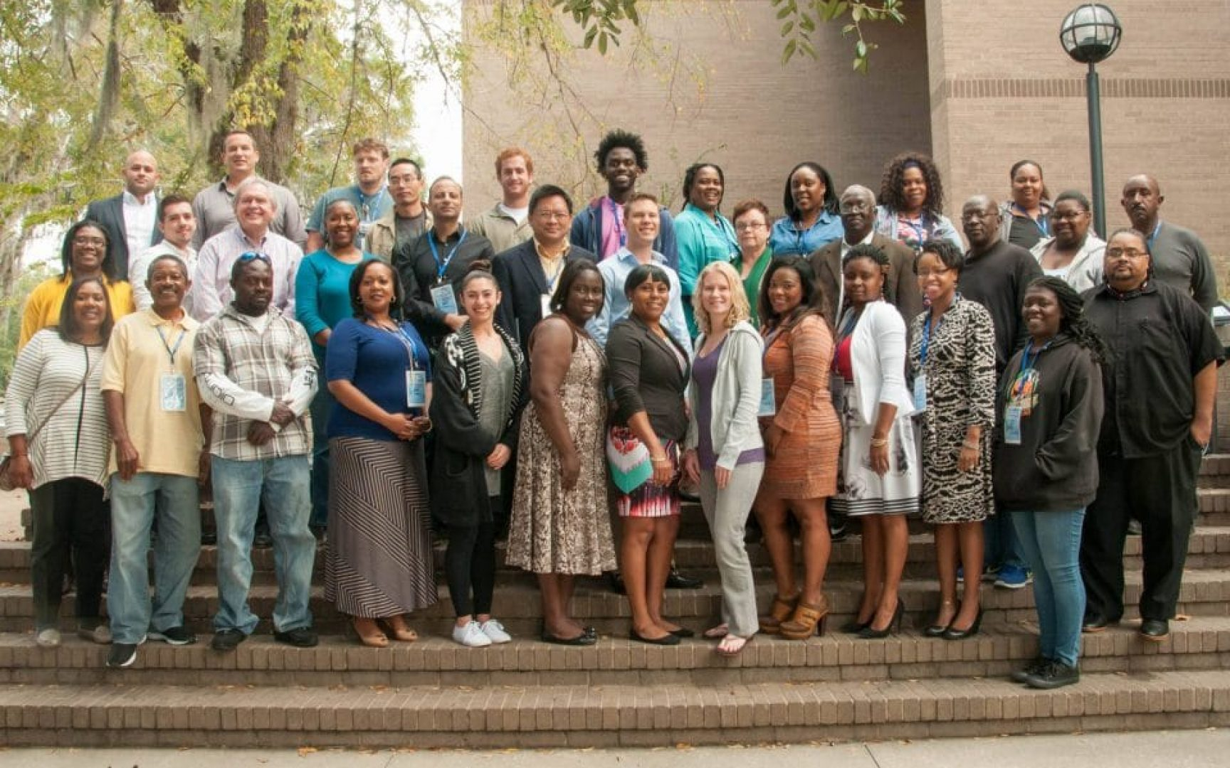 Gainesville Entrepreneurship and Adversity Program participants at the Gator Bootcamp.