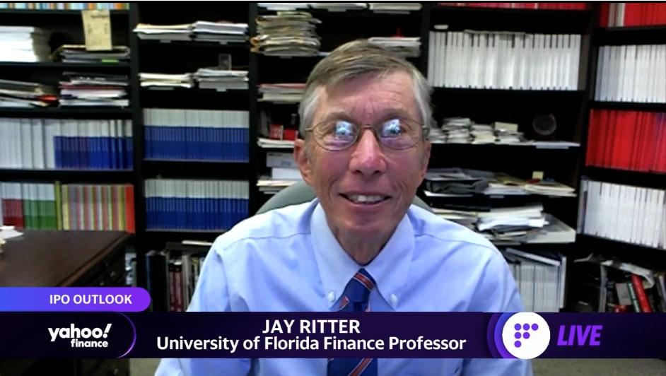 Jay Ritter on Yahoo Finance