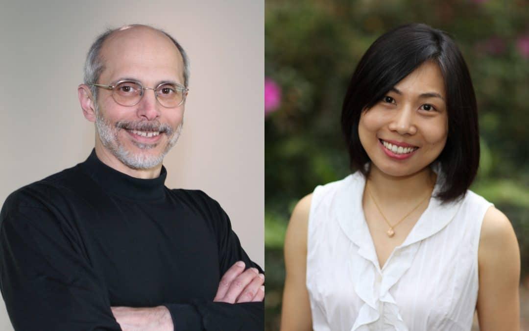 Joe Alba and Yanmei Zheng