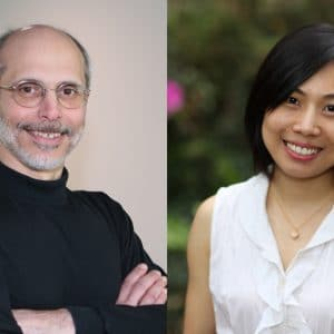 Joe Alba and Yanmei Zheng