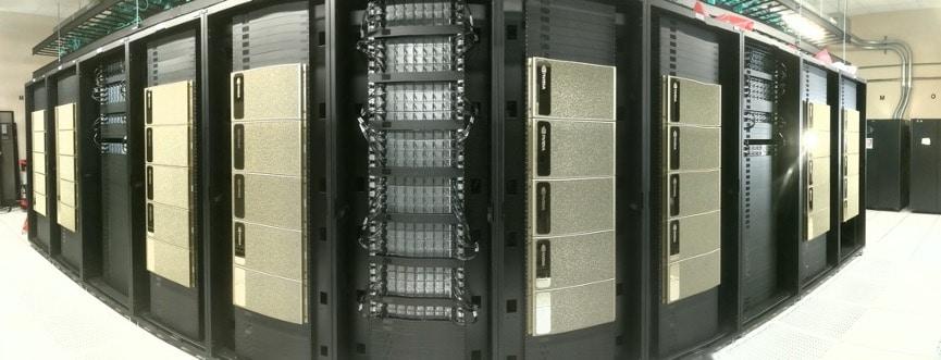 The HyperGator supercomputer.